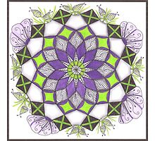 Fluttering Quilt Squares Explosion by PennyRaeN