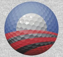 Obama Golf Ball by heliconista