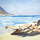 Beach, South Africa by HurstPainters