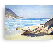 Beach, South Africa Canvas Print