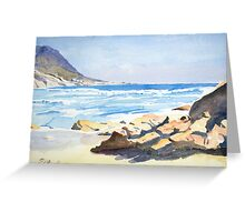Beach, South Africa Greeting Card
