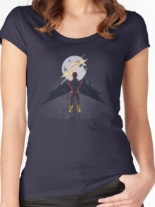 Spark in the Dark Women's Fitted Scoop T-Shirt