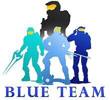 Blue Team by RiverSpirit