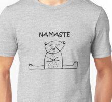 NAMASTE POLAR BEAR YOGA Unisex T-Shirt