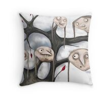 The Strangest Tree I Ever Did See...! Throw Pillow