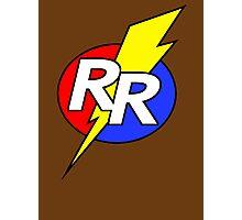 Rescue Rangers Logo Photographic Print