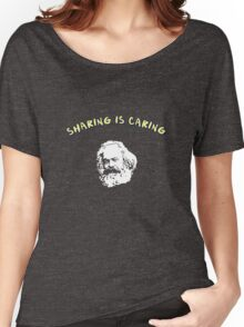 sharing is caring Women's Relaxed Fit T-Shirt