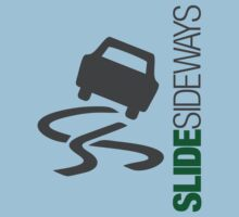 Slide Sideways (3) Baby Tee