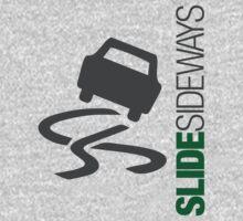 Slide Sideways (3) Kids Tee