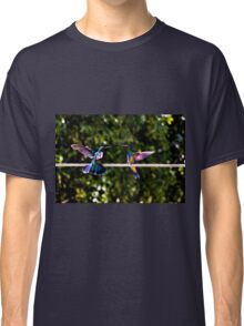 Hummer Face-Off Watercolor Classic T-Shirt
