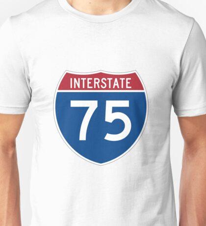 Interstate 75 I75 Sign Unisex T-Shirt