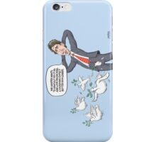 Justin Trudeau Peace Dove Fly iPhone Case/Skin