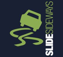 Slide Sideways (5) Kids Tee