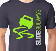 Slide Sideways (5) Unisex T-Shirt