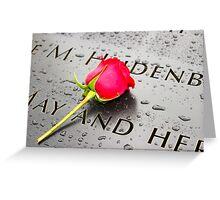 9-11 Greeting Card