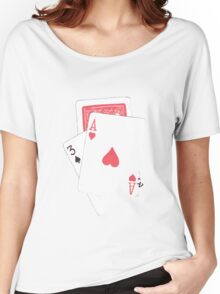 Card Trick Women's Relaxed Fit T-Shirt
