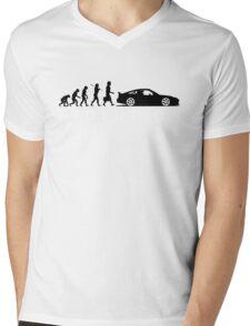 Evolution of Pilot (1) Mens V-Neck T-Shirt