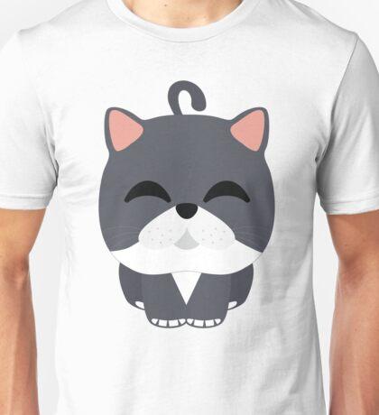 Exotic Cat Emoji Happy with Joy Look Unisex T-Shirt