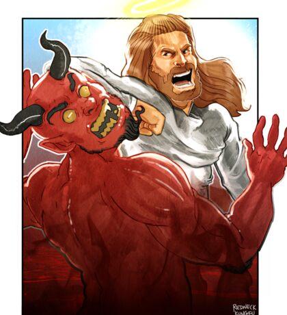 Christ Hero Sticker