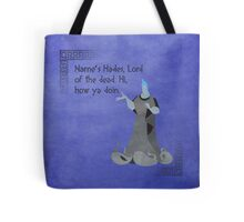 Hercules inspired design (Hades). Tote Bag