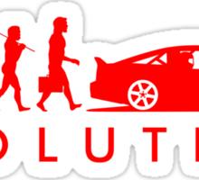 Evolution of Pilot (4) Sticker