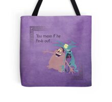 Hercules inspired design (Pain & Panic). Tote Bag