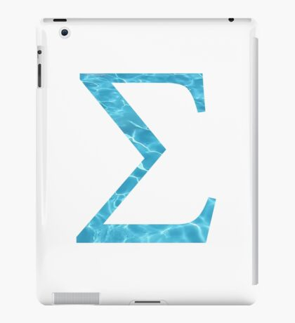 Sigma-water iPad Case/Skin