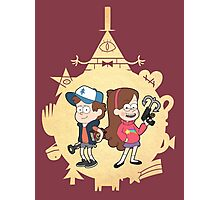 Mystery Twins Photographic Print