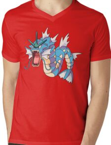 Gyrados Mens V-Neck T-Shirt
