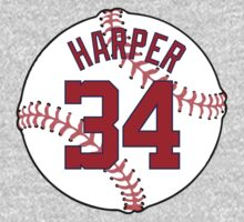 Bryce Harper Baseball Design by canossagraphics