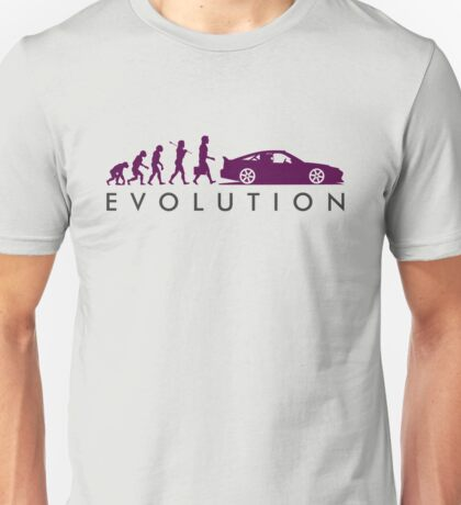 Evolution of Pilot (7) Unisex T-Shirt