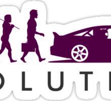 Evolution of Pilot (7) Sticker