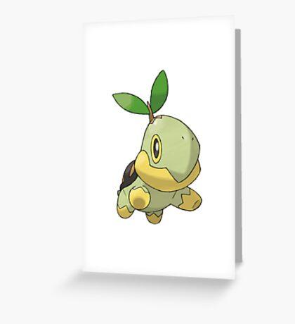 Turtwig Greeting Card