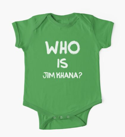 Who is Jim Khana? (2) One Piece - Short Sleeve
