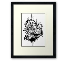 Game of Thrones House Fight Framed Print