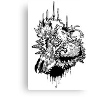 Game of Thrones House Fight Canvas Print