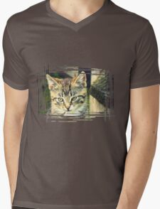 Retro portrait of WaiFai 2 Mens V-Neck T-Shirt