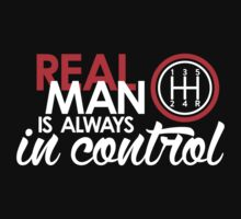 REAL MAN is always in control (4) Baby Tee