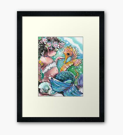 A New Discovery  Framed Print