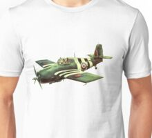 Grumman Wildcat US fighter aircraft Unisex T-Shirt