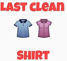 Last clean shirt by Imnotbritish