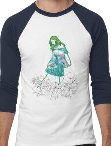 Girl's Diary Collection - Water Men's Baseball ¾ T-Shirt