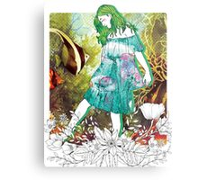 Girl's Diary Collection - Water Metal Print