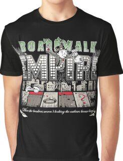 Boardwalk Monopoly Graphic T-Shirt