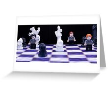 Harry Potter Chess Greeting Card