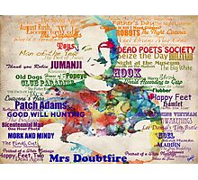 Robin Williams Tribute Photographic Print