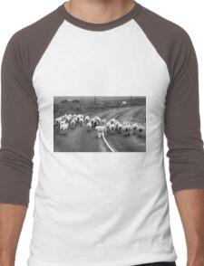 Traffic Jam - Donegal Style Men's Baseball ¾ T-Shirt