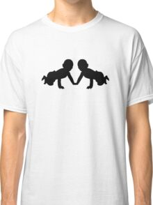 Twins babies Classic T-Shirt