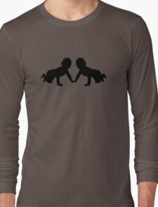Twins babies Long Sleeve T-Shirt