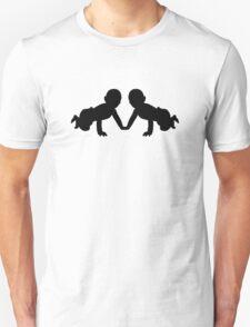 Twins babies T-Shirt